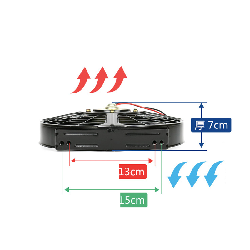 Good Quality wholesale price electronic Condenser fan 9 inches