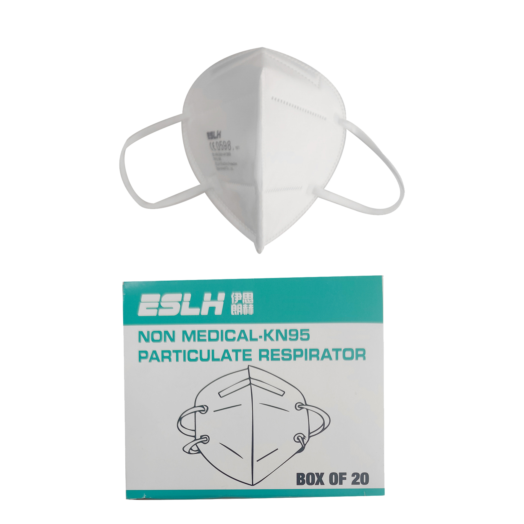 Factory Top Quality Manufacturer KN95 Transparent Respirator Mask For Civil Use - KingCare   KingCare.net