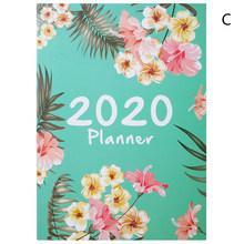Органайзер А4 для ноутбука и журналов, DIY 365 дней, плановая книга для записей, Kawaii, ежемесячный недельный график, книга для письма(Китай)