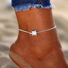 17 км богемные бабочки ножные браслеты для женщин многослойный Хрустальный ножной браслет 2020 Новый ножной браслет на ноги пляжная черепаха ...(Китай)