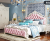 Pink 1 bed 2 bedside table