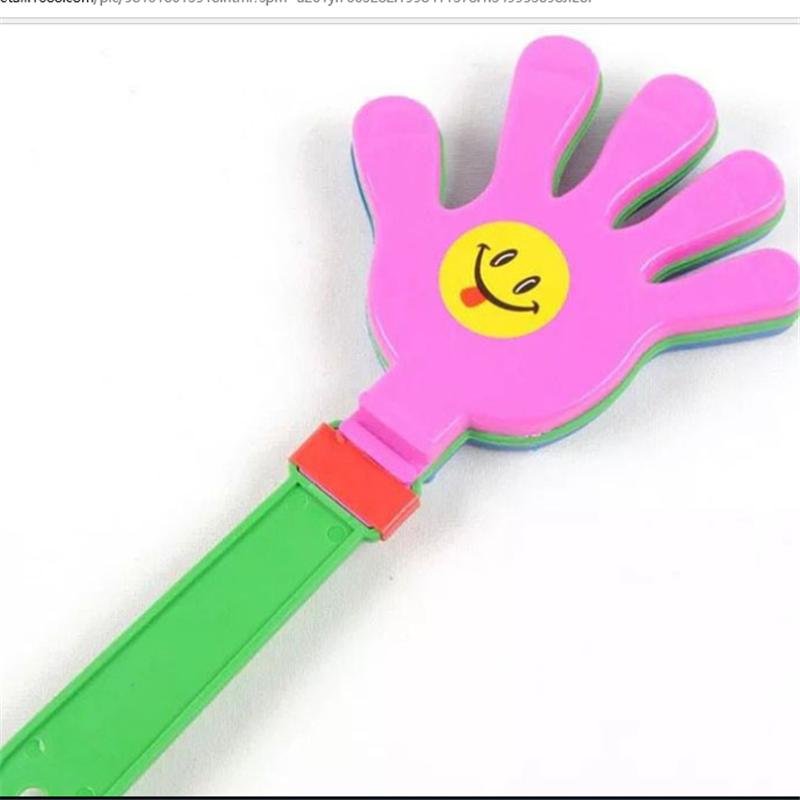Ручная Хлопушка улыбающееся лицо палка Хлопушка ручная цветная хлопушка для бара концерта KTV cheer props