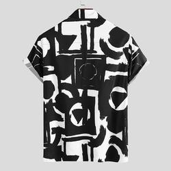 Custom Logo OEM Summer Printing Hawaiian Shirt Men 2021 Short Sleeve Streetwear Lapel Casual Brand Shirts Chic Button Camisa