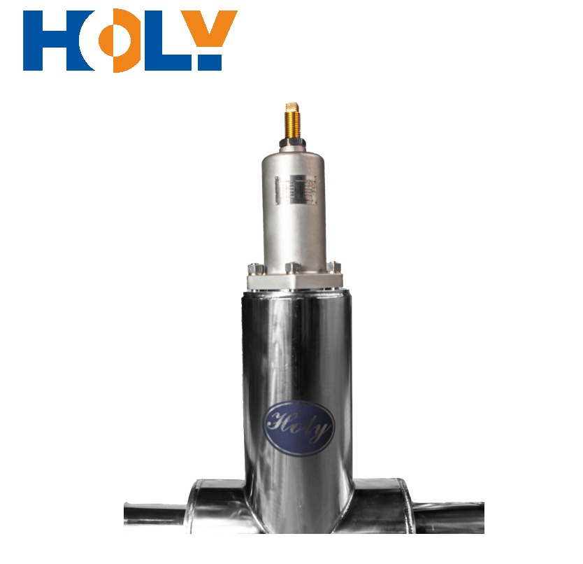 DN100-150 Vacuum Insulated Pressure Regulating Valve which controls Liquid Nitrogen in Vacuum Insulated Piping