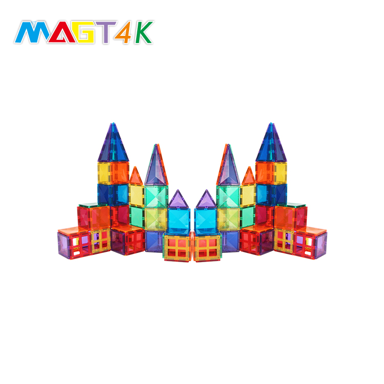 MAGT4KBuilding block bricks construct toy ABS plastic toy self-assembly toys for kids120pcs