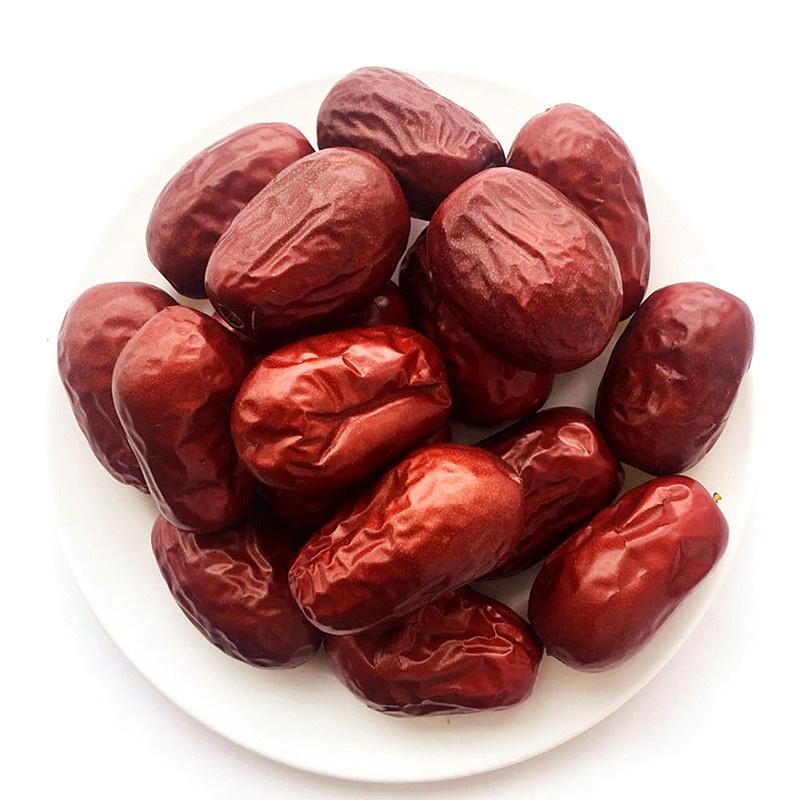Китайский Синьцзян сушеные фрукты jujube красные даты для оптовой продажи может сделать jujube орех