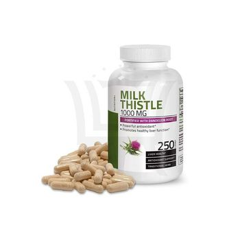Milk Thistle - 80% Flavonoids - Powerful Formula Of Improvement of Immunity, Kidney, Detox and Function, Energy For Female