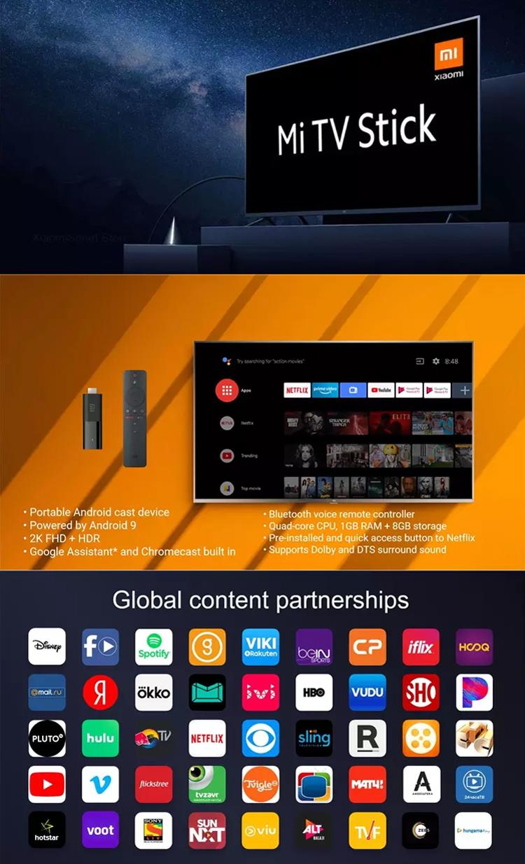 الأصلي العالمي الروبوت التلفزيون 9.0 رباعية النواة DTS HD فك مزدوج 1GB ذاكرة الوصول العشوائي 8GB ROM جوجل مساعد Netflix Xiaomi Mi جهاز استقبال للتليفزيون