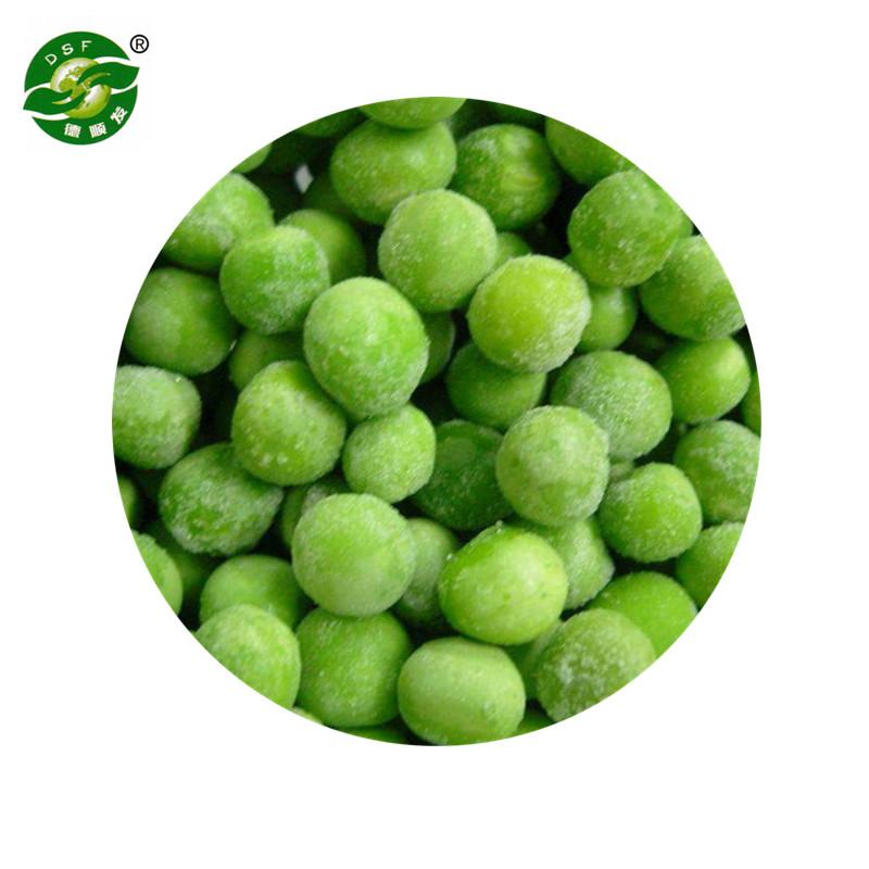 Поставка сертифицированного BRC высококачественного нового урожая замороженного зеленого гороха IQF, горячая распродажа