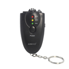 Three test step professional LED digital display breath analyzer with torch function & key chain breath analyzer AT-61