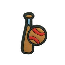 Новинка, 1 шт., баскетбольный футбол, ПВХ, шармы для обуви, спортивные аксессуары, пряжки, подходят для браслетов, футбол, КРОК, JIBZ, Детские луч...(Китай)