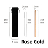 Rose Gold 2 pcs Set