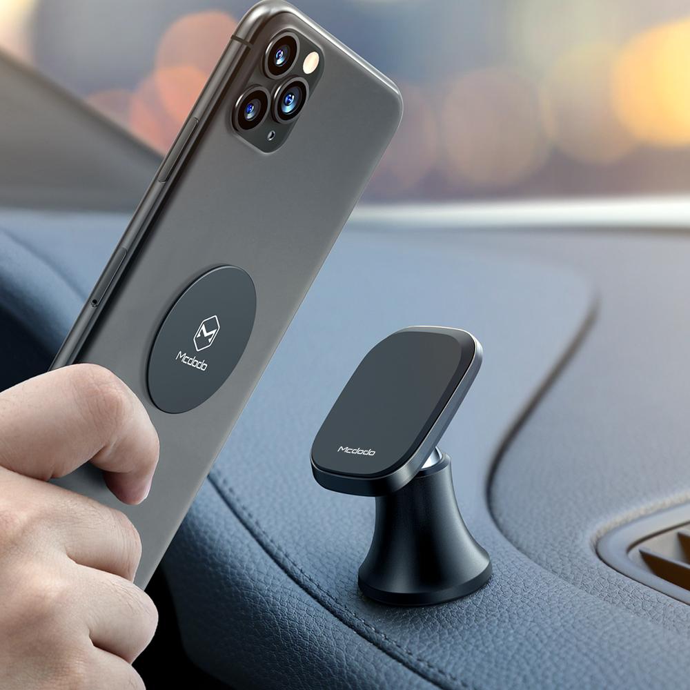Новые аксессуары для мобильных телефонов держатель сильный магнит автомобильный держатель сотового телефона Мини Магнитный 360 вращающийся магнитный автомобильный держатель