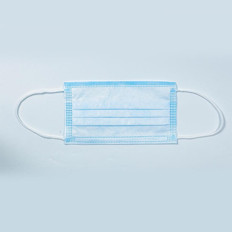 Three-Layer Protective Blue Face Mask Earloop Mouth Face Cover Disposable Protective Mask - KingCare   KingCare.net