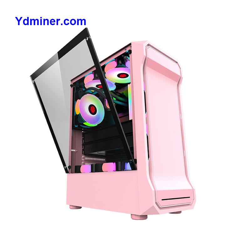 Manufacturer in Stock Desktop Case Gaming Case Pc for Computer Gamer YD-WJZJ