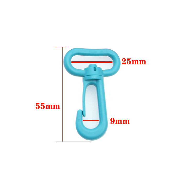 200PCS/Bag 20mm25mm Bag adjustment plastic hook Second gear buckle Mountaineering backpack buckle accessories