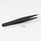 Remove Tweezers High Quality Small Tweezer HIgh Quality Stainless Steel Remove Blackhead Facial Small Hair Black Pointed Tweezers
