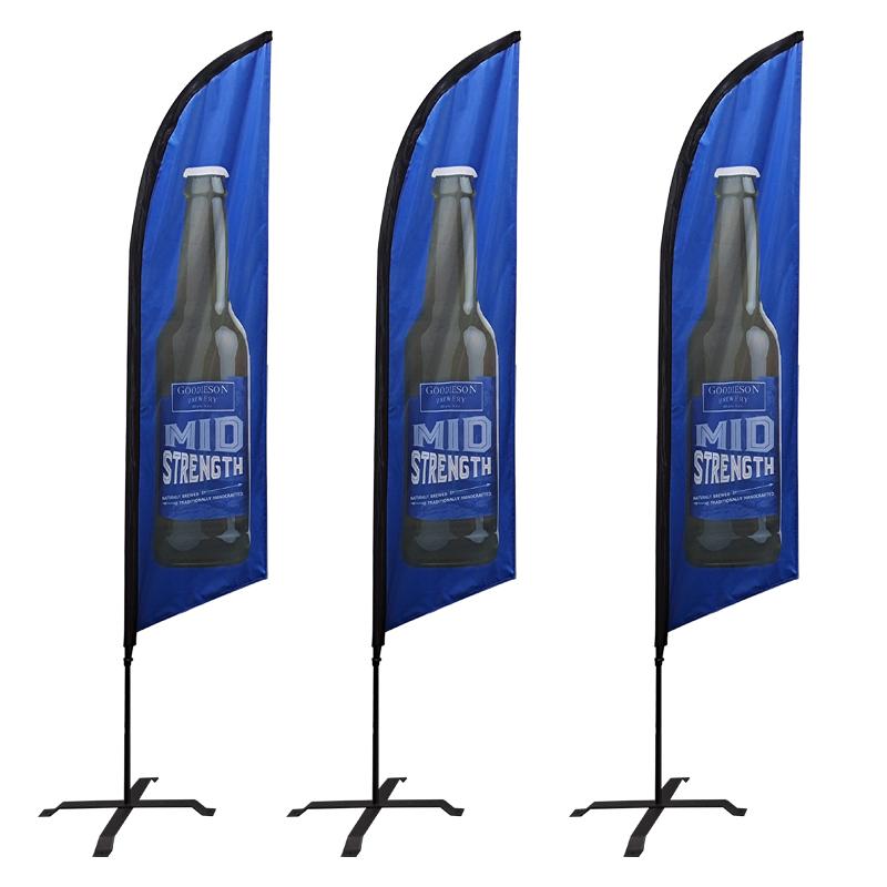 Изготовление пляжного флага и стойки/рекламные баннеры/каплевидные перьевые флаги с пользовательским логотипом