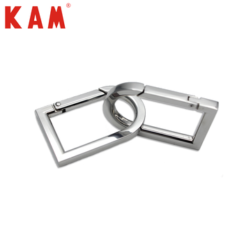 High quality metal snap hook key ring