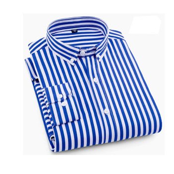 Hot Selling Casual Business Cotton Dress Shirt Slim Fit Made In China Custom Men Long Sleeve Shirt