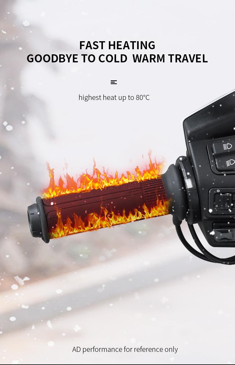 Smart Motorcycle Heating Handlebar