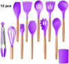 12 Pcs of Set Purple