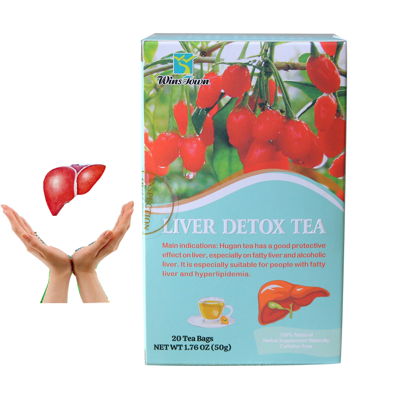 Winstown liver cleansing detoxifying tea fatty liver Daily essential chinese herbal tea for smokers and Drinkers - 4uTea | 4uTea.com