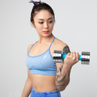 Gym Equipment New Gym Equipment Steel Dumbells 2021 New Design Fitness Products Quickly Adjustable Dumbbell Set