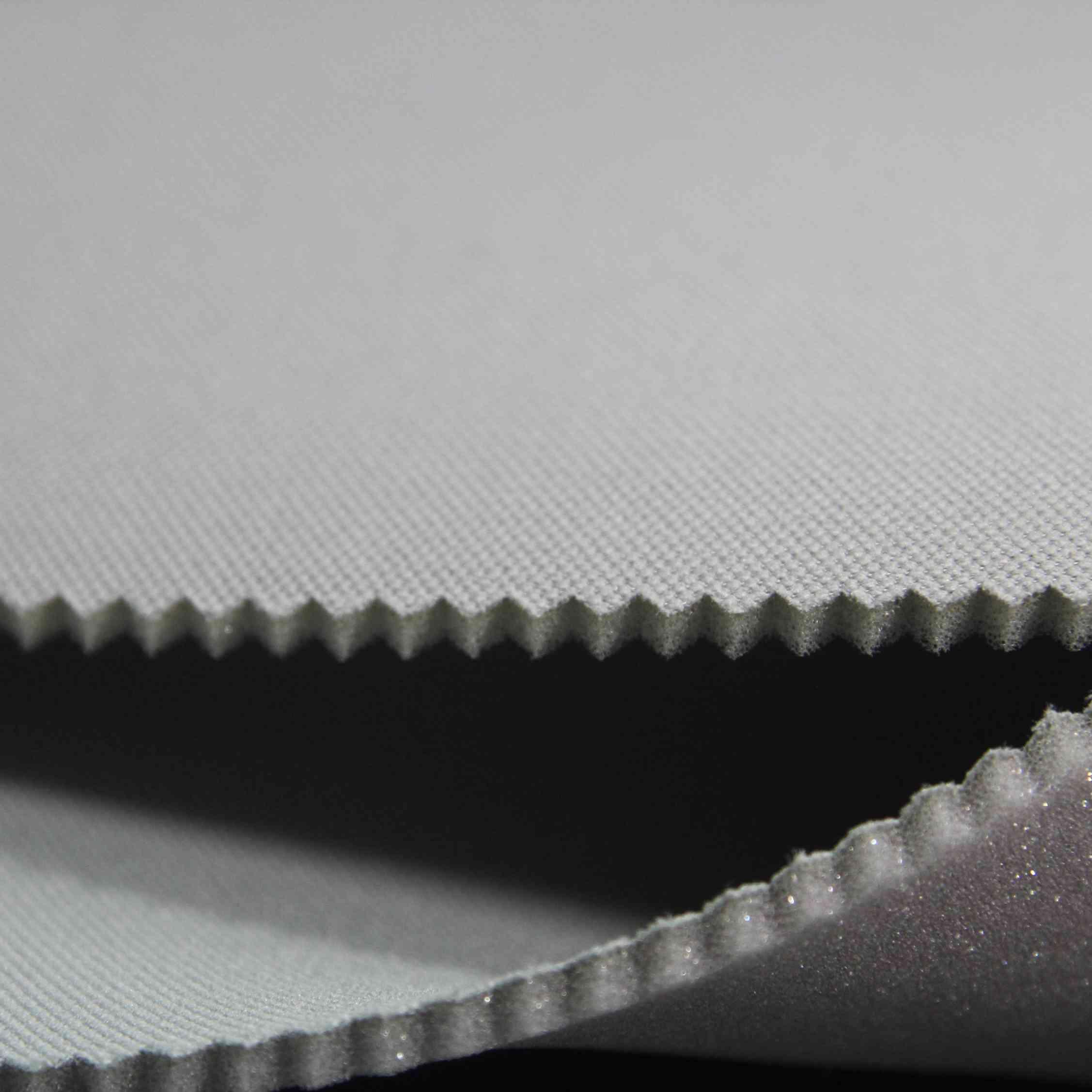 Автомобильная потолочная ткань из 100% полиэстера с пеной
