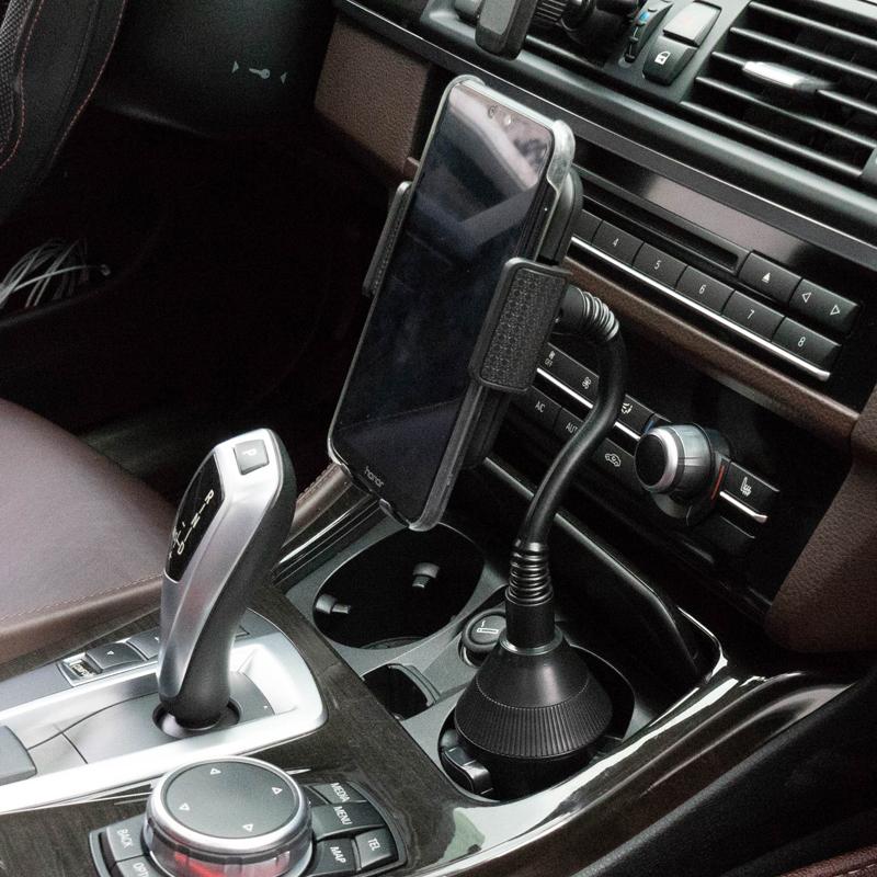 Новейший гибкий Регулируемый автомобильный держатель для телефона с длинной шеей для большого телефона