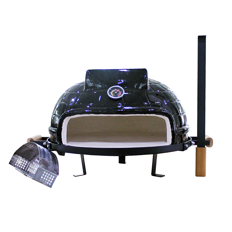 AUPLEX New Portable Charcoal Ceramic Smoker Stove Multifunction Wood Fired Pizza Oven