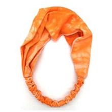 Крашеный галстук для женщин и девочек, широкая хлопковая повязка на голову, эластичная лента, модный Йога макияж, головной убор, спортивный ...(Китай)