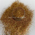 Christmas Glitter Decoration Christmas Glitter Poly Chunky Exclusive Design Gold Hexagon Mix Glitter For Decoration Color Can Be Customized