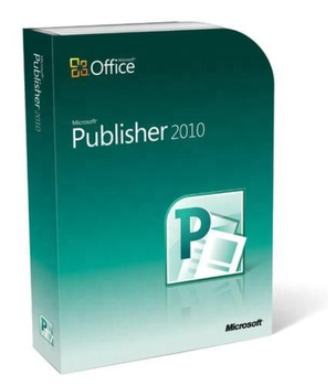 Microsoft office Publisher 2010 License With 256 MB Memory