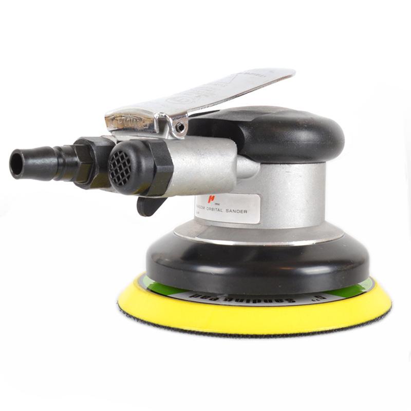 125MM Air Sander Pneumatic Polisher for Hook and Loop Car Polishing Pad