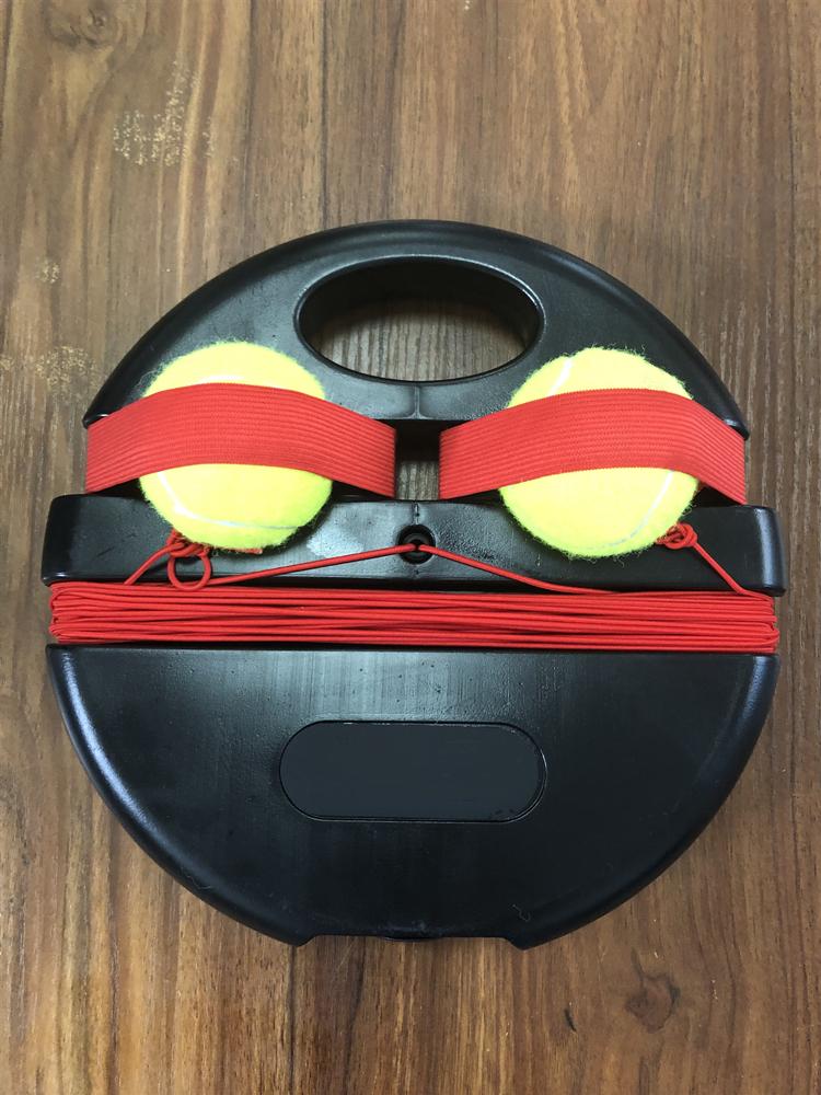 Тренировочный мяч для тенниса с ремешком, портативный учебный инструмент для самостоятельного обучения, тренировочное оборудование для тенниса для начинающих
