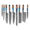 9 Piece knife set