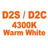 D2S D2C 4300K