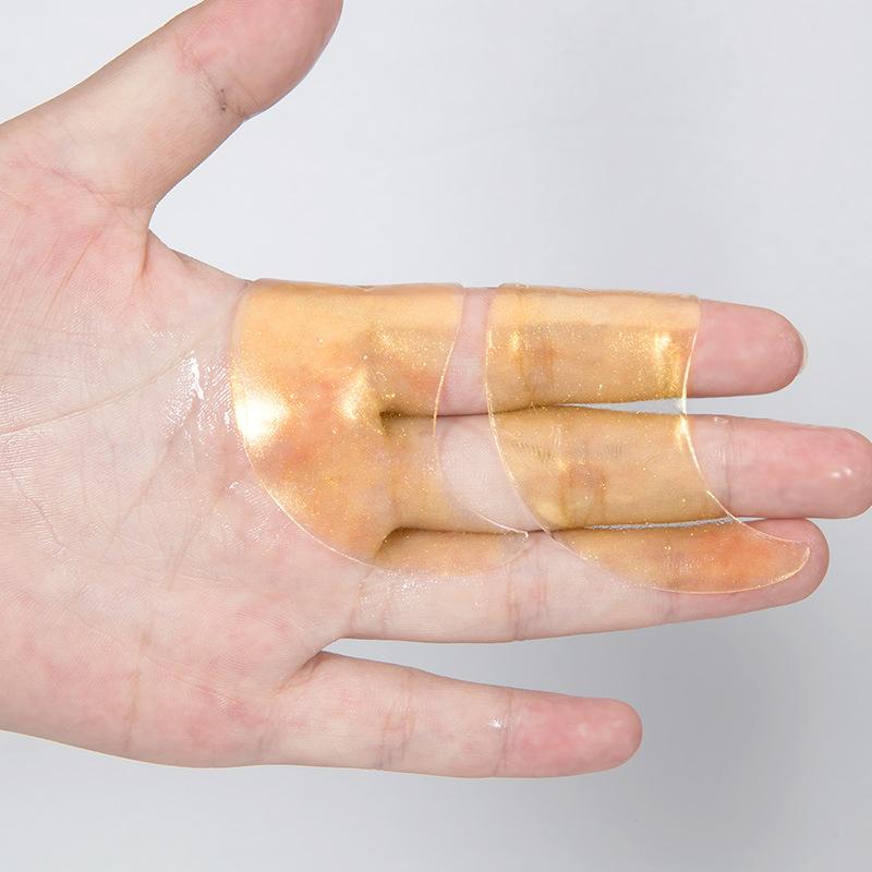 OEM Eye Care 24K Gold Hyaluronic Acid Repair Eye Patches Remove Dark Circles Crystal Collagen Gel Eye Mask