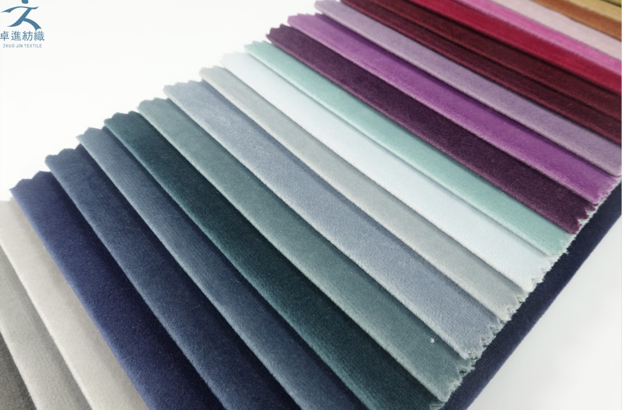 holland velvet 2020 new designs for sofa fabric and textiles