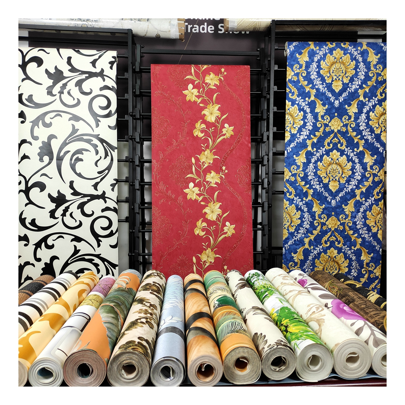 Дизайнерские виниловые обои на заказ, популярные обои для дома, 3d обои для украшения дома