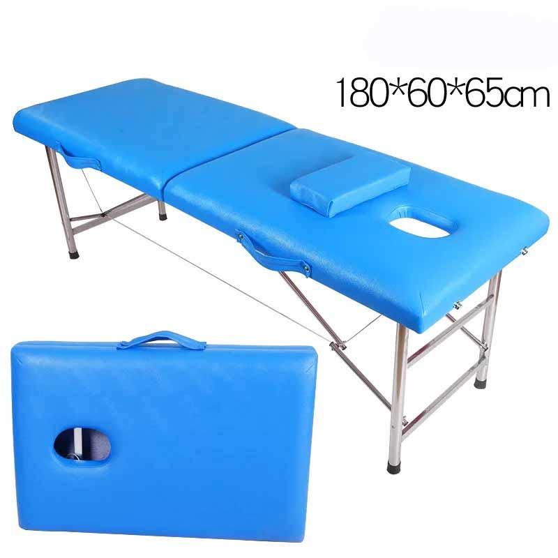 New type Aluminium portable comfortable folding spa massage table