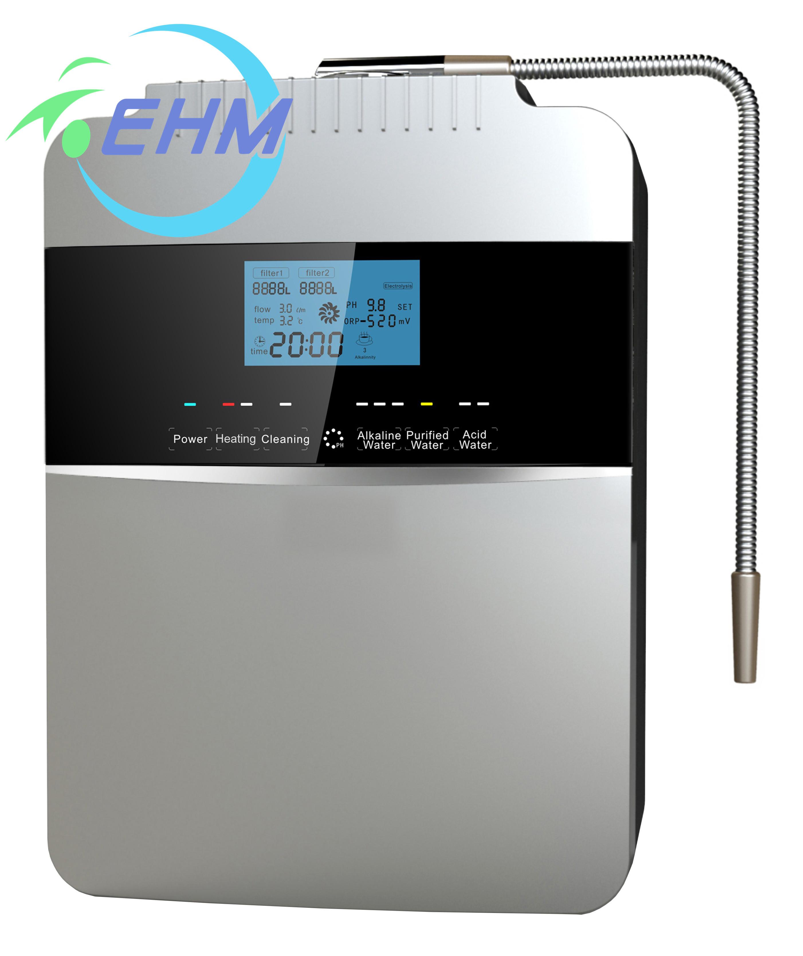 Роскошные Высокая производительность-восстановительного потенциала, концентрата эмульсии щелочной воды машина ионизированный) обеззараживания воды с 8 пластин