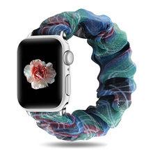 Эластичные ремешки для часов Apple Watch Band 5 4 3 2 38 мм 40 мм 42 мм 44 мм для iwatch Series браслет 5 4 3 ремешок для часов(Китай)