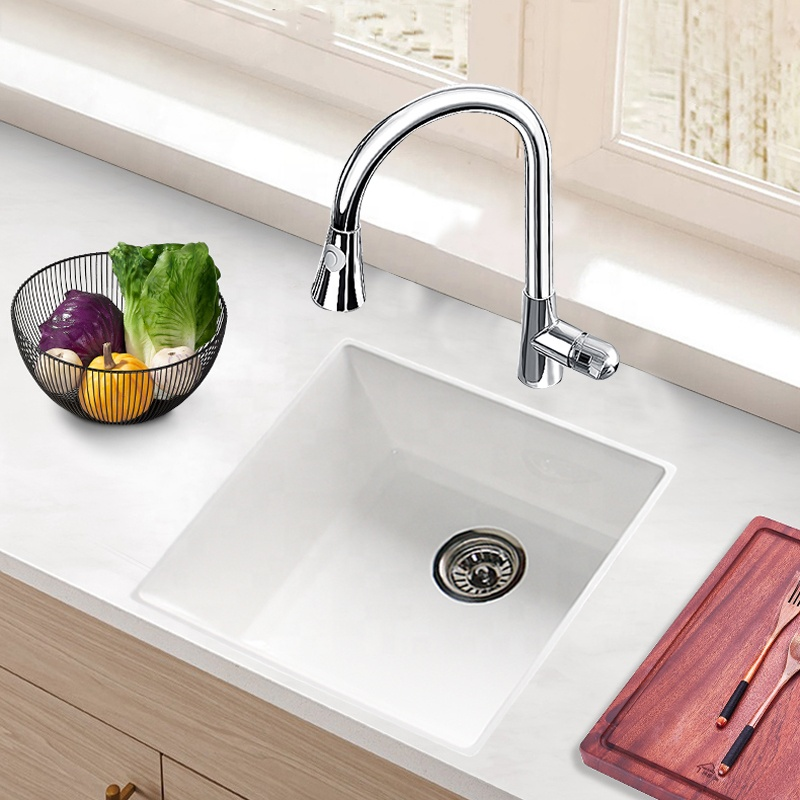 New Single Bowl Countertop Basin Corner Hand Contemporary Kitchen Sinks Buy Free Standing Apron Custom Size Double Kitchen Sink White Undermount Apron Rectangular Hideable Kitchen Sink Sanitary Ware Deep Apron Front Single Bow
