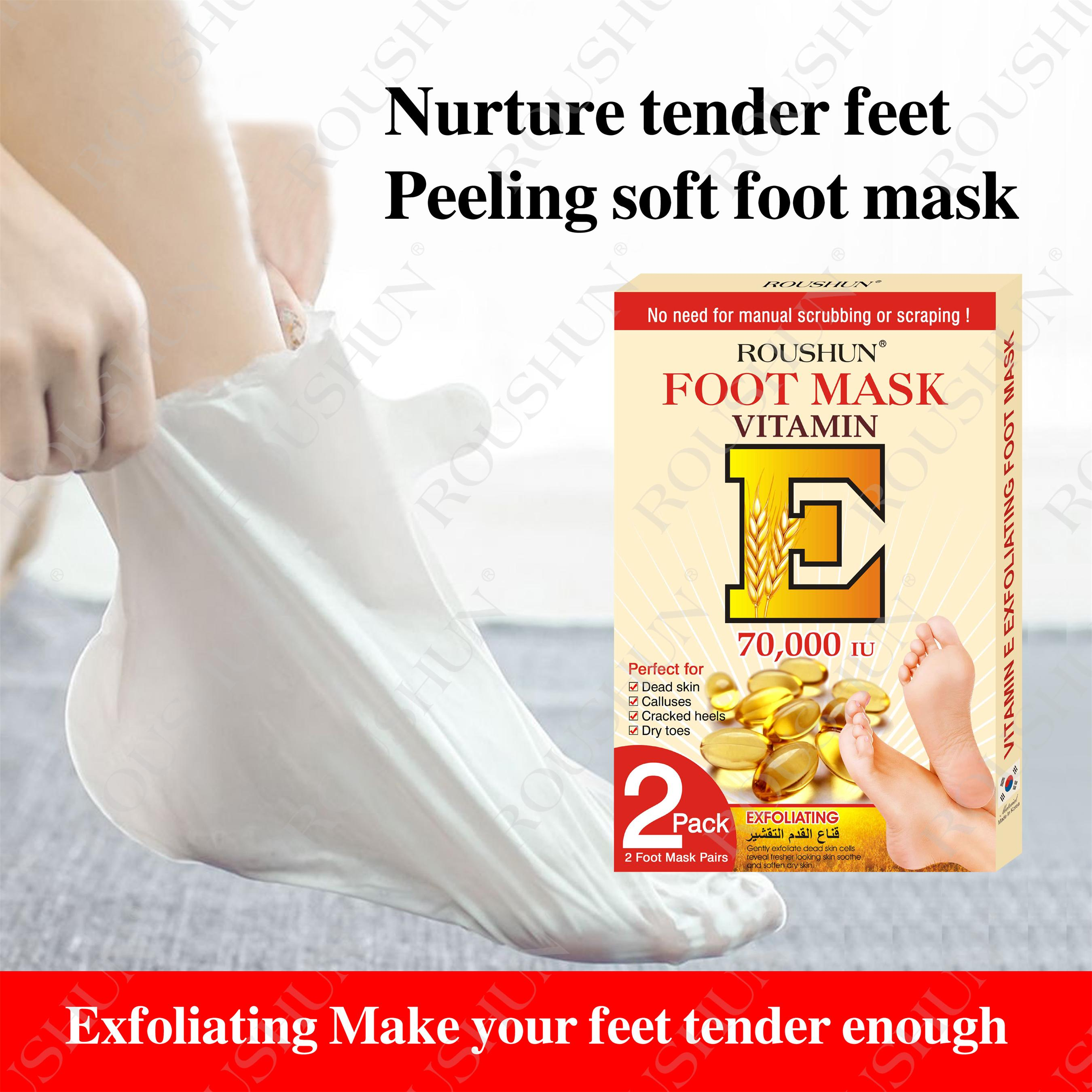 vitamin e foot mask