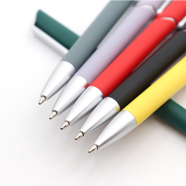Fancy Rubber Finish Personalized Pens with Silk or Pad Printing Logo Nice Wholesales Product