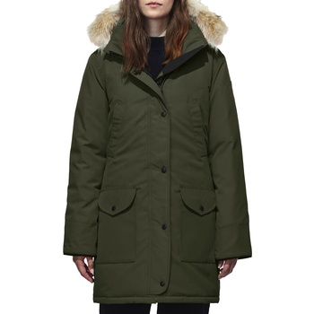 custom high quality army green women winter jacket for windproof long style