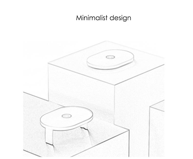 2 colors household portable one-button operation folding bracket design LED ultraviolet intelligent sterilizer