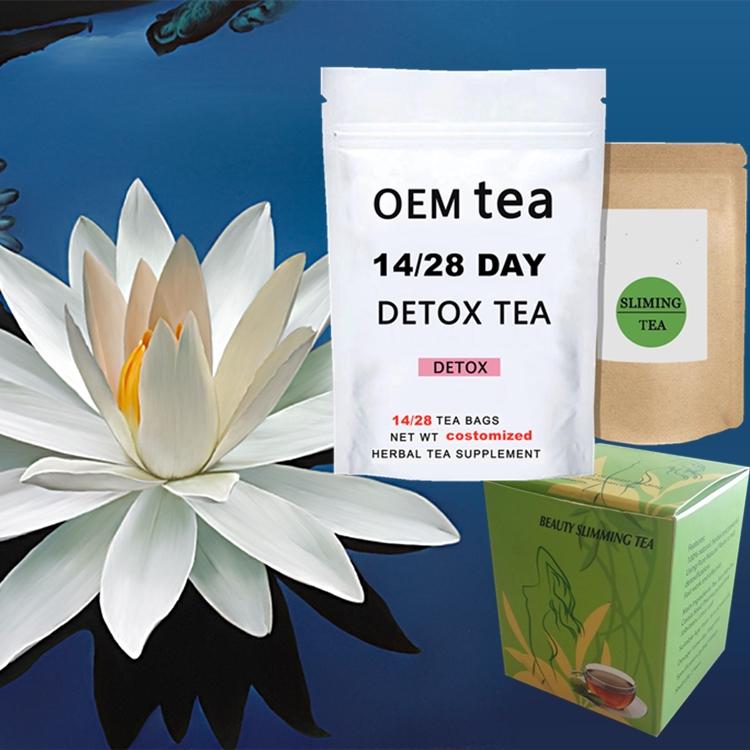 Natural 14 days Detox Cleanse Lotus Chinese Herbs true slim dieter Slimming Tea Weight Loss Flat Tummy Tea - 4uTea | 4uTea.com